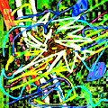 Scramble #e by Blind Ape Art