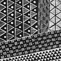 Scratchboard Kapa Pattern 1 by Cynthia Conklin