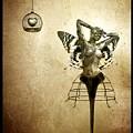 Scream Of A Butterfly by Jacky Gerritsen