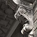 Sculpted Balcony Bracket Budapest by James Dougherty