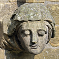 Sculpted Head Of Woman. by Stan Pritchard