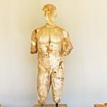 Sculpture In Olympia, Greece. by Marek Poplawski