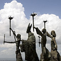 Sculpture In Puerto Rico by Carl Purcell