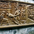 Sculpture Torture At Hoa Lo Prison Hanoi by Sally Weigand