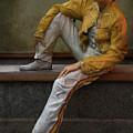Sculptures Of Sankt Petersburg - Freddie Mercury by Jaroslaw Blaminsky