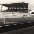 Scunthorpe United - Old Showground - East Stand 1 - Bw - 1960s by Legendary Football Grounds