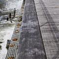 Sea Cliff Seawall Boardwalk by Bob Slitzan