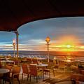 Sea Cruise Sunrise by John Poon