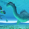 Sea Dragon Fight by Corey Ford