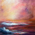 Sea Dusk by Sally Seago