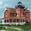 Sea Girt Lighthouse by Nancy Patterson