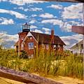 Sea Girt Lighthouse by Nick Zelinsky