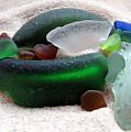 Sea Glass From Bermuda by Janice Drew