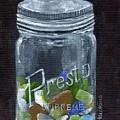Sea Glass Jar by Sheryl Heatherly Hawkins