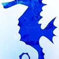 Sea Horse Love 44 by Barry Knauff