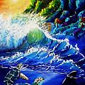 Sea Life Fantasy by Elizabeth Lisy Figueroa