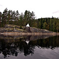 Sea Mark On An Islet At Lake Saimaa by Jarmo Honkanen