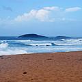 Sea Meets Beach by Ronald Hilbig