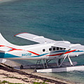 Sea Plane At Dry Tortugas National Park by Jason O Watson
