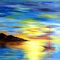 Sea Scape by Rahat Kazmi