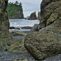 Sea Stacks And Boulders Washington State by Dan Sproul