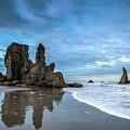 Sea Stacks by Manuela Durson