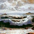 Sea Storm by Rosario Piazza