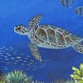 Sea Turtle 2 by Amelie Simmons