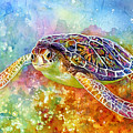 Sea Turtle 3 by Hailey E Herrera
