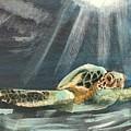 Sea Turtle by Janet Easley