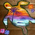 Sea Turtle Love by Deborah Evers