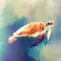 Sea Turtle by Modern Art