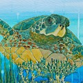 Sea Turtle by Simone Germain
