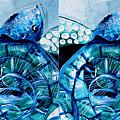 Sea Turtle Twins by J Vincent Scarpace