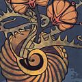 Sea Vase by Susan Lishman