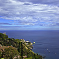 Sea View From Taormina by Madeline Ellis