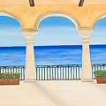 Sea View  by Sandra Lorant