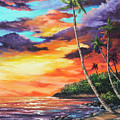 Sea Wall Lahaina by Darice Machel McGuire