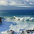Sea Wave Surf Clouds Coast 46713 300x532 by Rose Lynn