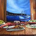 Seafood Feast by Toni  Thorne