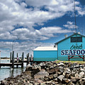 Seafood On The River  by Kaye Menner