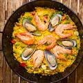 Seafood Paella  by Anastasy Yarmolovich