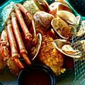Seafood Supper by Diana Hatcher