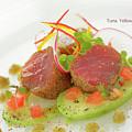 Seafood Tuna Yellow Fin Maldives by Bernd Lippert