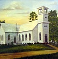 Seaford Zion Methodist Church by Anne Kushnick