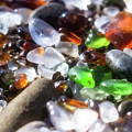 Seaglass Background by Charles Wollertz