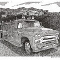 Seagrave Gmc Firetruck by Jack Pumphrey