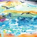 Seagull Seas by Cynthia Pride
