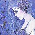 Seahorse Dreams Mermaid by Renee Lavoie