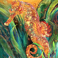 Seahorse - Spirit Of Contentment by Carol Cavalaris